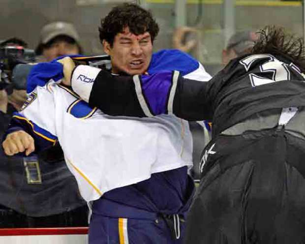 Ice Rage: When Hockey Players Attack