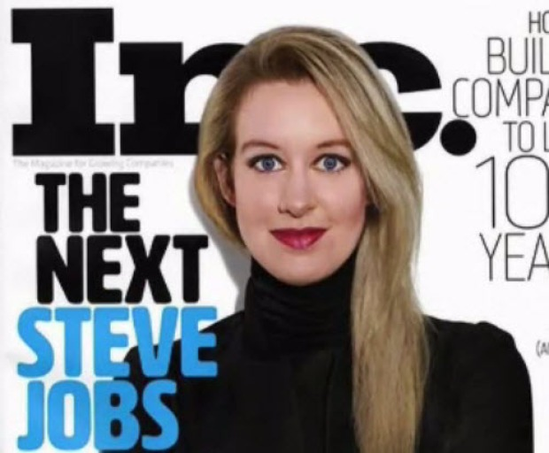 [BAY] CEO Surrenders Theranos, Pays $500K After 'Massive Fraud'