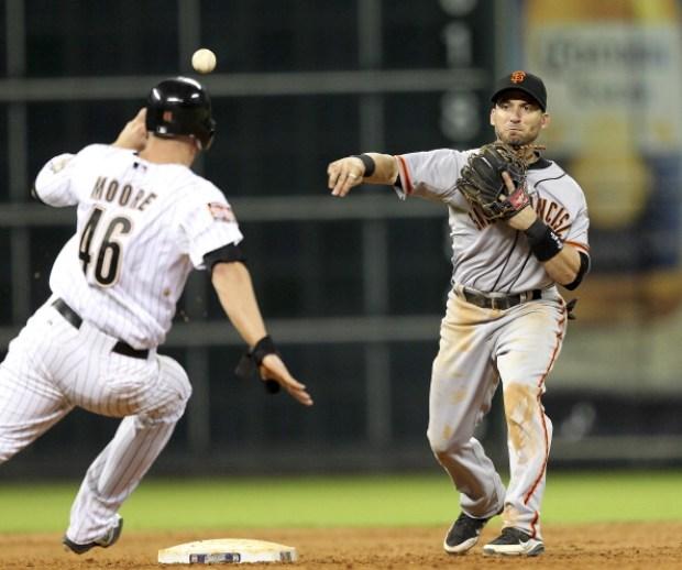 Giants Down Astros in Houston