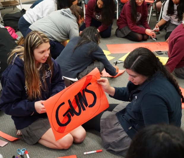 Bay Area Schools Prepare for #NationalSchoolWalkout