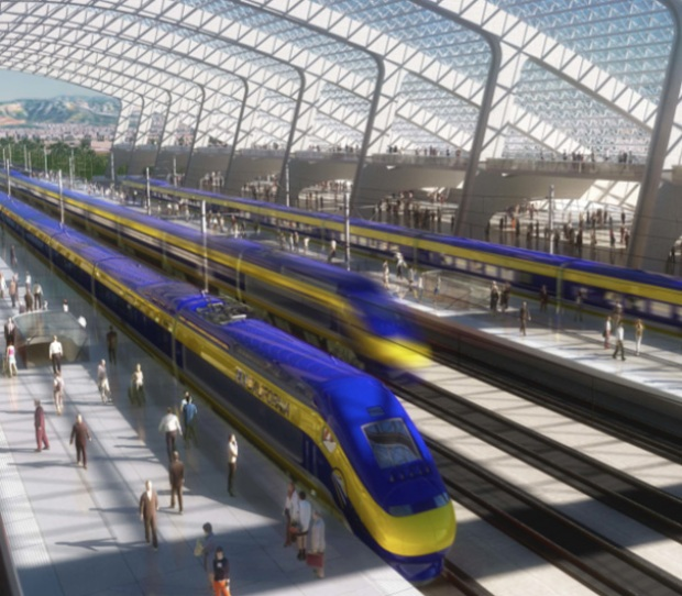 California High Speed Rail Criticized by Key Democrat