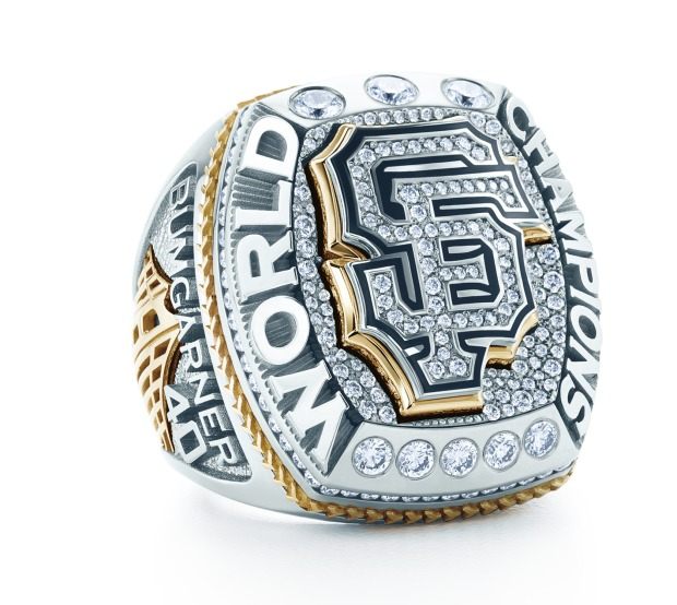 San Francisco Giants Unveil 2014 World Series Championship Ring