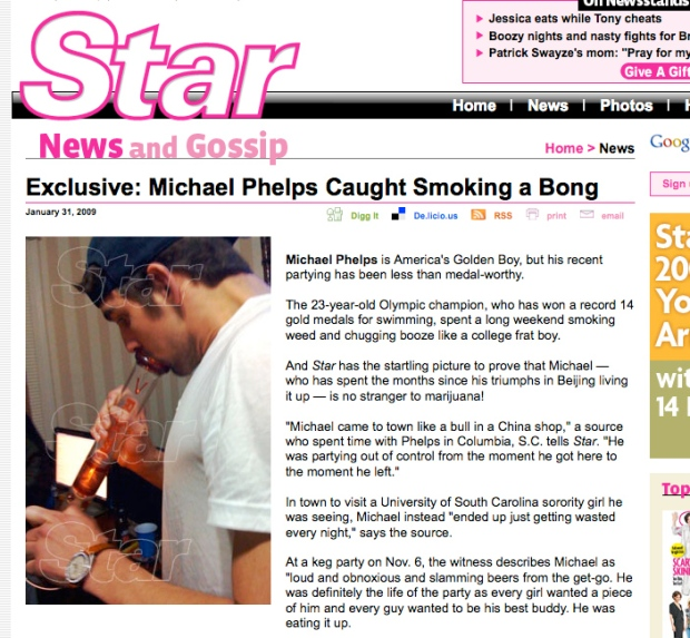 Michael Phelps: Olympic Record Breaker