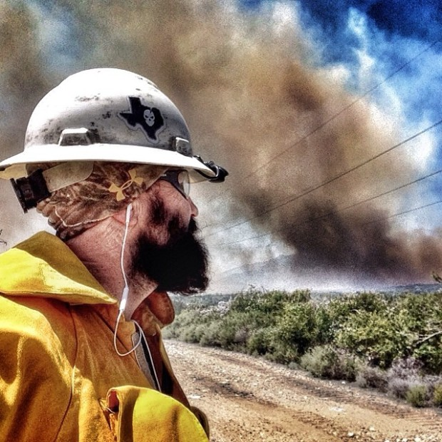 Images: Rancho Cucamonga Brush Fire
