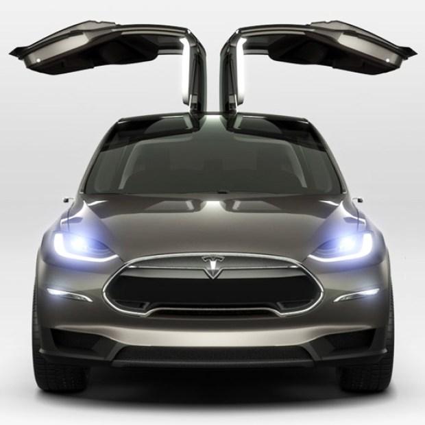 Tesla Unveils the Model X
