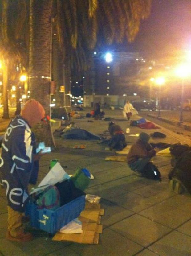 Occupy SF Protesters Pack Out