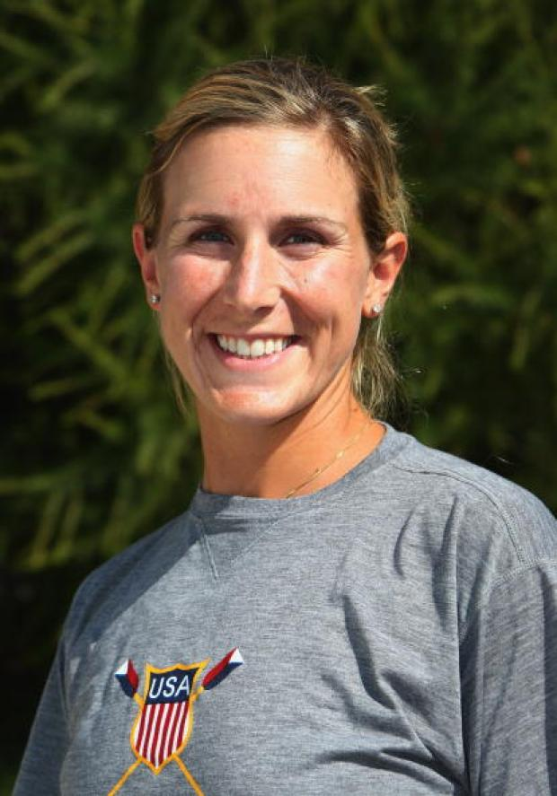 Erin Cafaro of the U.S. Rowing Team