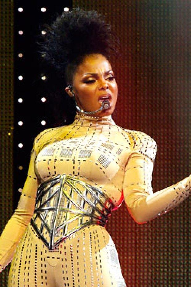Janet Jackson Through the Years