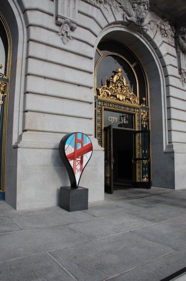 Google Pins San Francisco