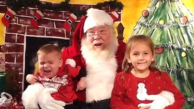 2013 la gallery santa photo fail pics of no good santa encounters - Is Golden Corral Open On Christmas Day 2014