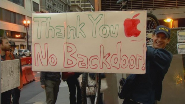 [BAY] Supporters Rally in San Francisco After Apple Plans to Fight Order to Help FBI Unlock Shooter's iPhone