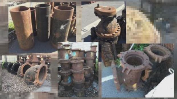 [BAY] San Francisco to Auction Off Unused Cast Iron Pipes, Bolts