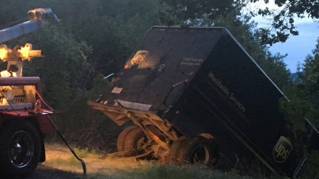 [BAY] Crews Searching for UPS Driver Who May Have Been Ejected From Truck in Lafayette