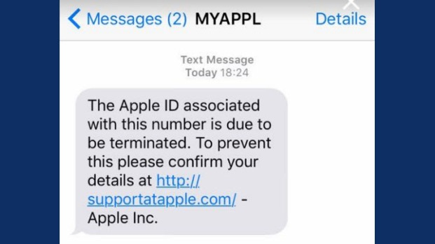 [BAY] iPhone Owners Beware: Text Scams Your Data