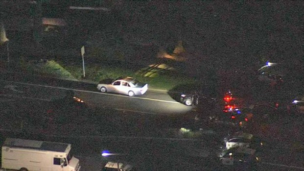 Police in Standoff with Walnut Creek Homicide Suspect