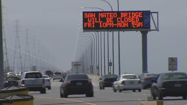 [BAY] San Mateo Bridge Closed Memorial Day Weekend