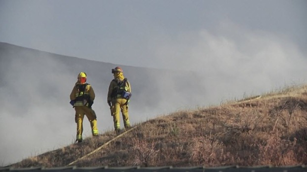 533-Acre Brush Fire Near Antioch Contained