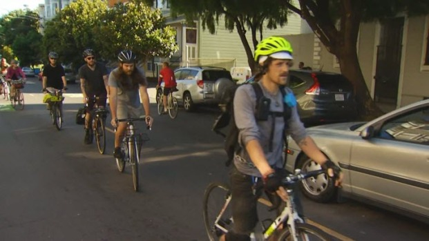 [BAY] San Francisco Cyclists Protest Police Crackdown on Bicyclist Violations