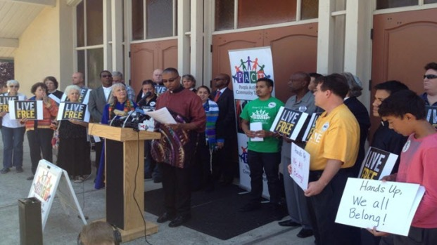 [BAY] Unrest in Ferguson Prompts Rallies, Vigils in Bay Area