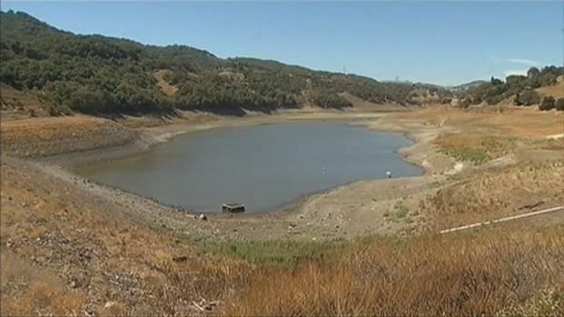 [BAY] Chesbro Reservoir Close to Minimum Water Level