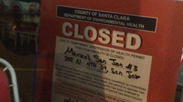 [BAY] Shigella Cases Linked to SJ Restaurant: Health Department
