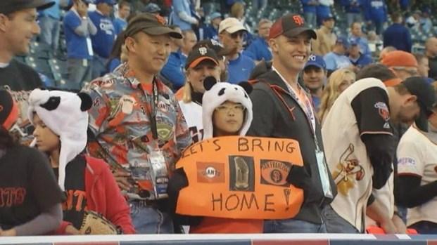 [BAY] Giants Fans Invade Kansas City for World Series