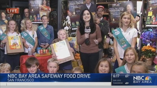 [BAY] Annual NBC Bay Area Food Drive Kicks Off