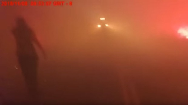 [BAY] Camp Fire: Deputy's Body Camera Vid Shows Harrowing Escape