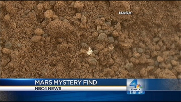 [LA] Mars Rover Mystery Uncovered
