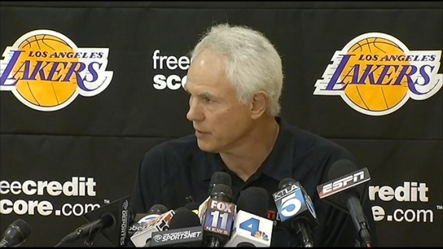 [LA] Lakers GM Discusses Firing of Coach Mike Brown