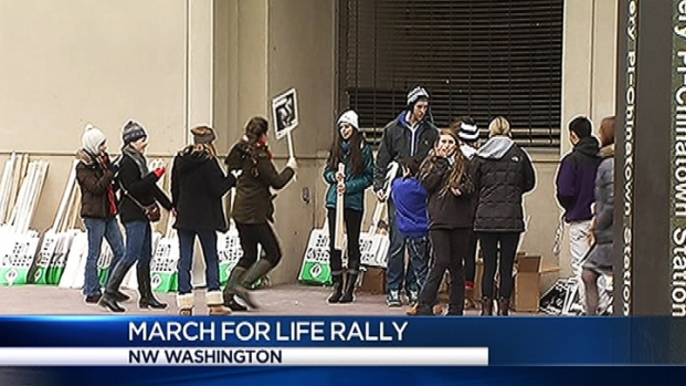 [DC] Abortion Opponents March in Washington