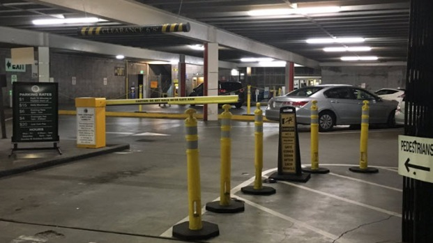Downtown oakland parking garage to shut down due to for Due bay garage