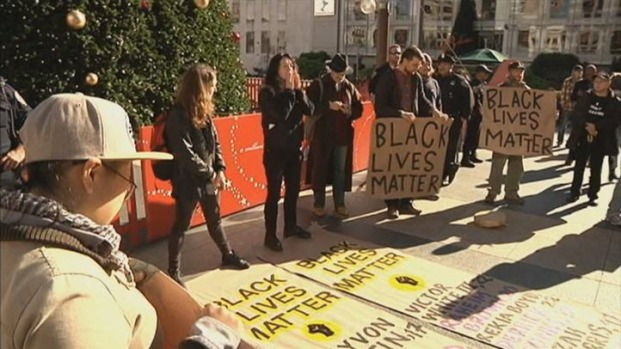 """[BAY] """"Black Lives Matter"""" Protests Continue in SF's Union Square"""