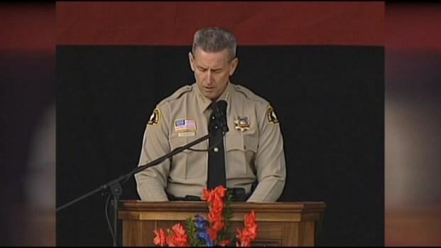 "[LA] Sheriff: Detective MacKay ""Stood for Good, Against Evil"""