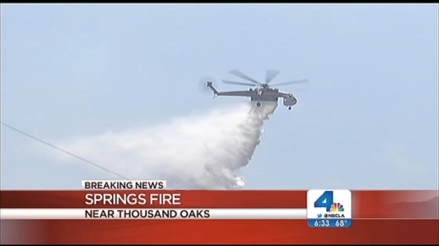 [LA] Springs Fire Is 56 Percent Contained