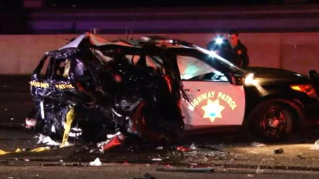 [BAY] 2 CHP Officers Hurt in Crash That Closed SB I-880 in Hayward