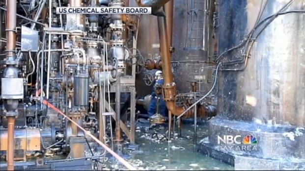 [BAY] First Photos From Inside Richmond Refinery