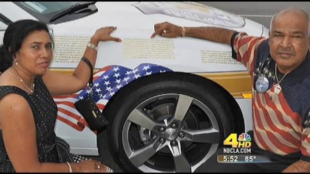 [LA] California's Car Culture Honors 9-11 Victims