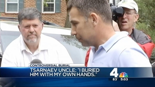 [DC] Bombing Suspect's Uncle Present at Burial in Virginia