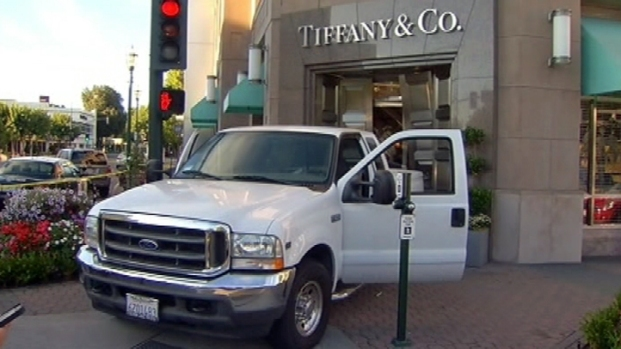 Burglars Use Truck to Break In To Tiffany's Store