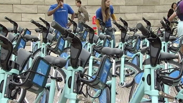 [BAY] Bay Area Bike Share Program Kicks Off