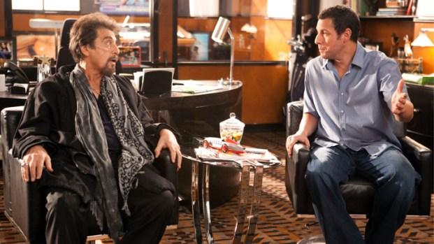 "[NBCAH] Al Pacino on Adam Sandler as His Love Interest in ""Jack & Jill"""