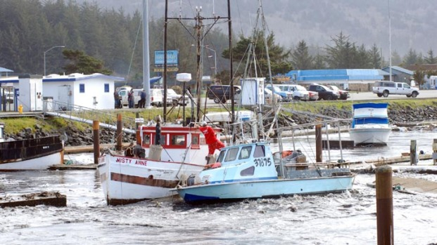 Images: Crescent City Harbor Damage