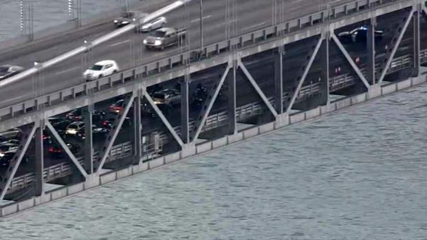 [BAY] 1 Killed, 2 Injured in Shooting, Crash on Bay Bridge