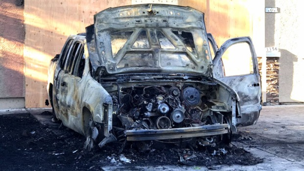 Suspect arrested in string of East Bay vehicle fires