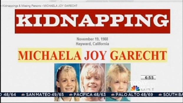 [BAY]  Bone Found May Belong To Hayward's Michaela Garecht
