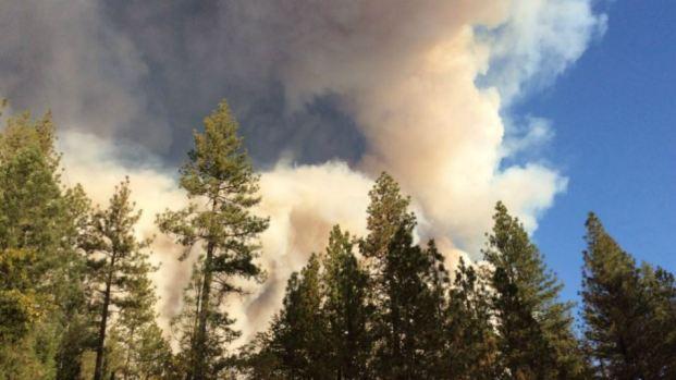 [BAY] RAW: Smoke From Fast-Spreaking Fire in Butte County Seen in Chico