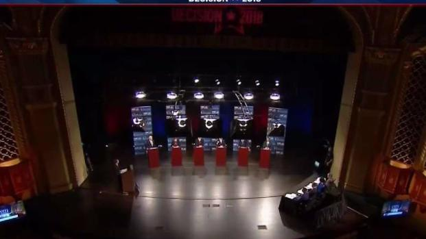 Candidates Square Off in California Gubernatorial Debate