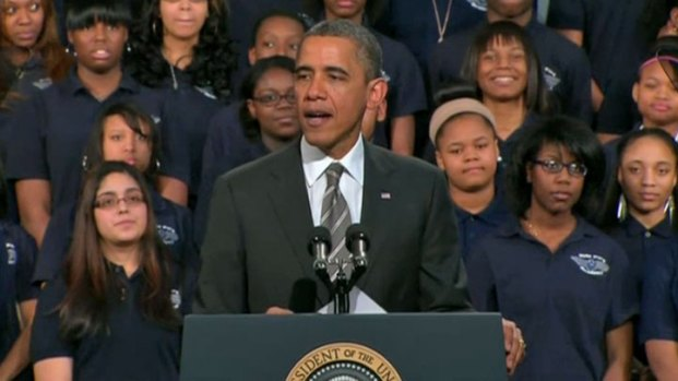 [CHI] Obama Gets Personal in Chicago Speech