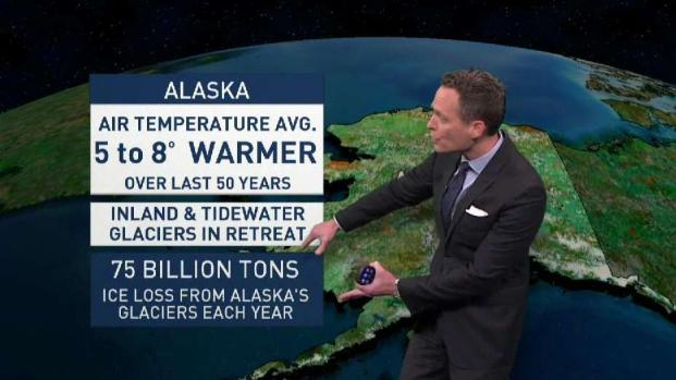 Climate in Crisis: Glaciers Retreating